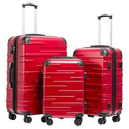 luggage expandable suitcase 3 piece set