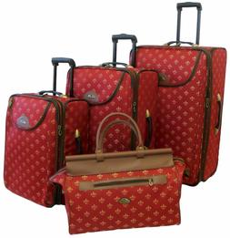 American Flyer Luggage Lyon 4 Piece Set Red 86400-4-MRED