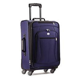 "American Tourister Luggage Pop Extra 21"" Carry On Spinner Su"