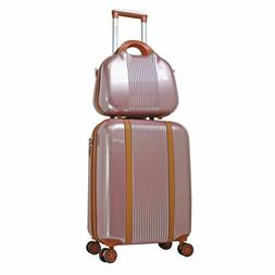 Luggage Set 2 Piece Hardside Carry On Spinner Women Travel S