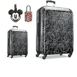 American Tourister Luggage Set 21 Inch Checked Bag and 28 In