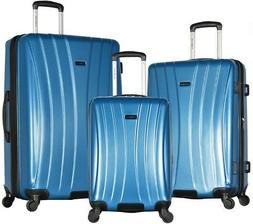 OLYMPIA USA Luggage Set ABS Expandable with 4-Spinner Wheels