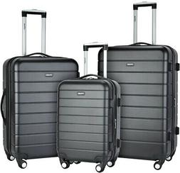 Luggage Set ABS Hard-Side with 4 Spinner Wheels and TSA Lock