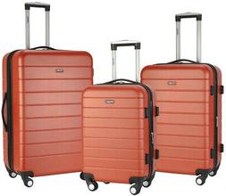 luggage set abs hard side with 4