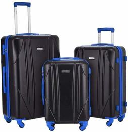 2/3 Piece Luggage Set Trolley Travel Suitcase ABS+PC Hardsid