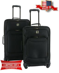 Luggage Set Protege 2 Piece Expandable Spinner Top Quality-