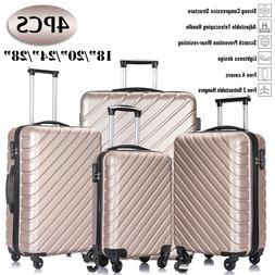 luggage set travel bag trolley spinner abs