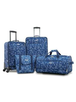 Luggage Set XLT 4 Piece Set Made With Durable Fabric w/ Push