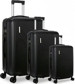 DFAVORS Luggage Sets Carry on Suitcase Set Hardside Expandab
