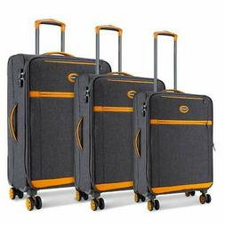 SHOWKOO Luggage Sets Expandable 3 Piece Durable Suitcase Spi