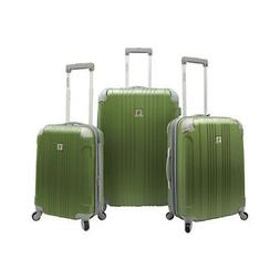 Beverly Hills Country Club Malibu 3 Piece Hardside Spinner L