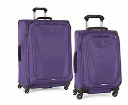 Travelpro Maxlite 4 2 Piece Set of 21 and 29 Spinner Purple