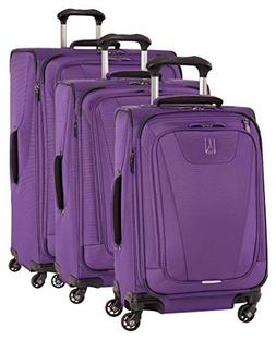 Travelpro Maxlite 4 Expandable Spinner 3 Piece Set , Purple
