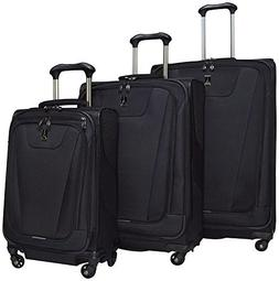 Travelpro Maxlite 4 Expandable Spinner 3 Piece Set , Black
