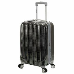Rockland Melbourne 20 Inch Expandable ABS Carry On Luggage F