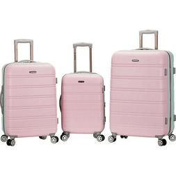 Rockland Luggage Melbourne 3-Piece Hardside Spinner Luggage