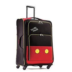 """Disney Mickey Mouse Pants 28"""" Spinner Suitcase by American T"""