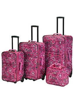 Rockland Luggage 4 Piece Nairobi Luggage Set