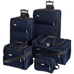 Samsonite 5 Piece Nested Luggage Set Bottom Grip Lifting Eas