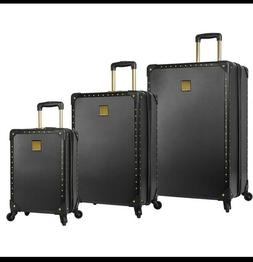 NEW Vince Camuto 3 Piece Hardside Spinner Luggage Set, Latte