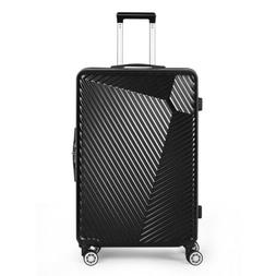 NEW ABS Hard Shell Cabin Suitcase Case 4 Wheels Luggage Ligh