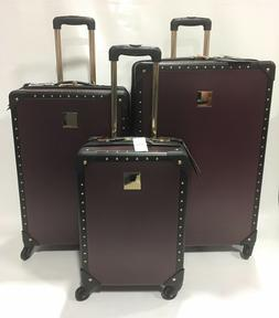 NEW VINCE CAMUTO ELIZAH 3PC LUGGAGE SET SPINNER WHEELS EXPAN