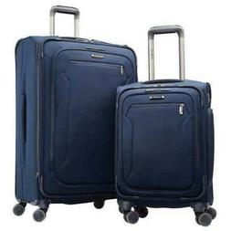 New! Samsonite Explore Eco 2-piece Softside Spinner Set, 37""