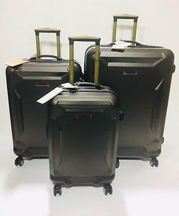 NEW TIMBERLAND FORT STARK LIGHTWEIGHT 3PC EXPANDABLE LUGGAGE