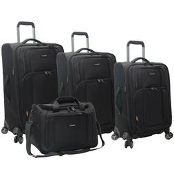NEW Pathfinder Presidential 4 piece Spinner Luggage Set