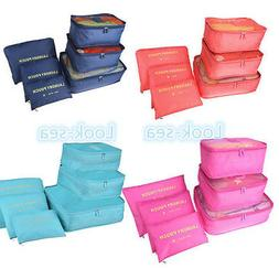 New Storage Pouches Suitcase Packing Bags Travel Luggage Org