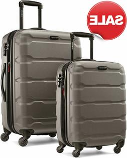 Samsonite Omni 2 Piece Expandable Hardside Spinner Luggage S