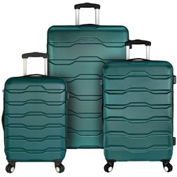 Elite Luggage Omni 3 Piece Hardside Spinner Luggage Set