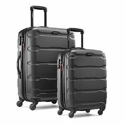 omni expandable hardside luggage with spinner wheels