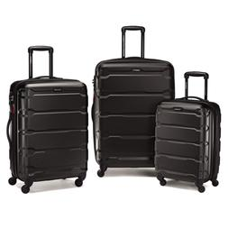 New Samsonite Omni PC 3 Piece Set Spinner 20, 24, and 28 inc