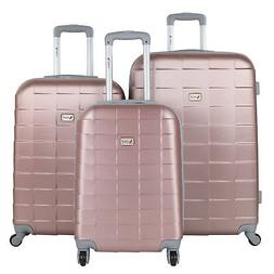 AMKA Palette Hardside 3-Piece Expandable Spinner Upright Lug