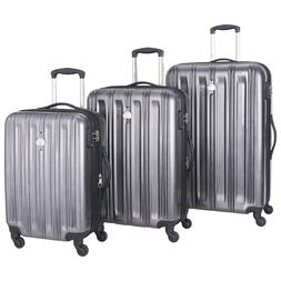 """DELSEY PARIS LONGITUDE CARRY-ON, 25"""" AND 29"""" SPINNER LUGGAGE"""