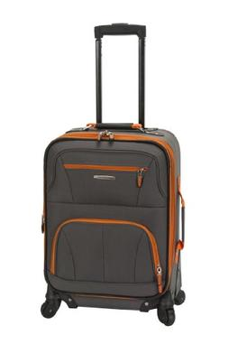 Rockland Luggage Pasadena 19 Expandable Spinner Carry On