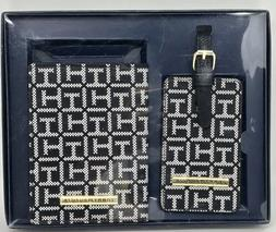 Tommy Hilfiger Passport Holder and Luggage Tag Gift Set NWT