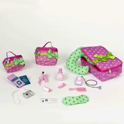 pegged accessory luggage and travel set