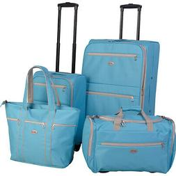 perfect 4 piece luggage set 4 colors