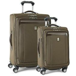 Travelpro Platinum Magna 2 Expandable Spinner Set, Olive