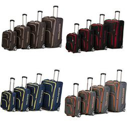 Rockland Polo Equipment Olympian 4-piece Expandable Luggage