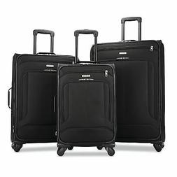 American Tourister Pop Max 3 Piece Luggage Suitcase Spinner