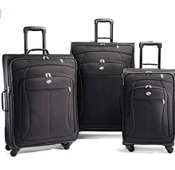 American Tourister Pop Plus 3pc Spinner Set 4 Colors Luggage