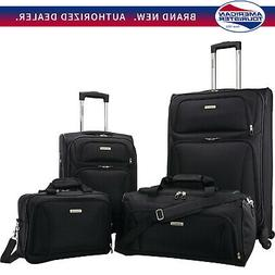 American Tourister Premium 4 Piece Lightweight 1680D Luggage
