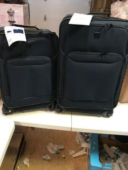 Protege 2 piece expandable spinner carry on and checked lugg