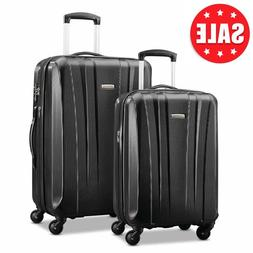 Samsonite Pulse Dlx 2 Piece Expandable Hardside Spinner Lugg