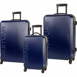 Randa luggage 2694P01 Nautica Luggage Ahoy 3 Piece Hardside