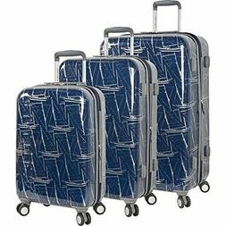 Randa luggage Nautica Shipyard 3 Piece Hardside Suitcase Set