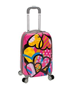 Rockland Luggage 20 in. Polycarbonate Carry On Luggage - Lov